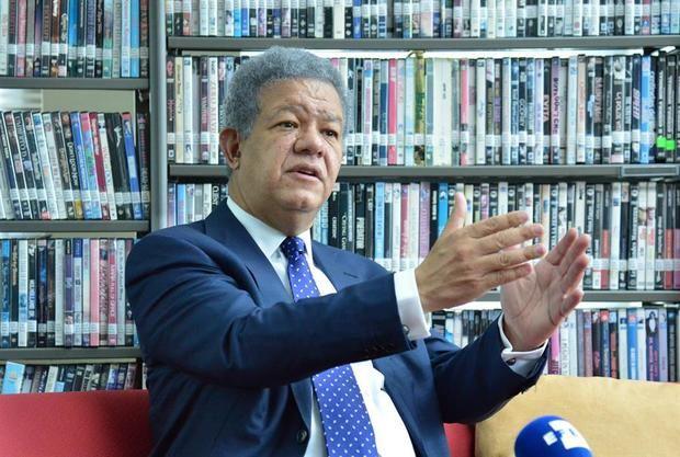En la imagen, el expresidente de la República Dominicana, Leonel Fernández.