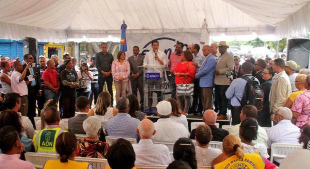 Alcaldía del Distrito Nacional inaugura trabajos de drenaje pluvial en el Ensanche Espaillat