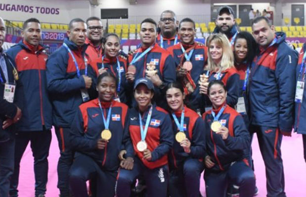 Los deportes de, karate, judo, pesas y boxeo sobresalieron en el aporte al medallero para la República Dominicana.