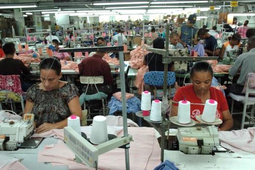 Exportaciones de zonas francas dominicanas aumentaron 9,8 % en 2018