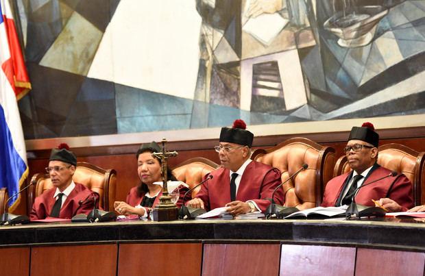 Audiencia del Tribunal Constitucional.