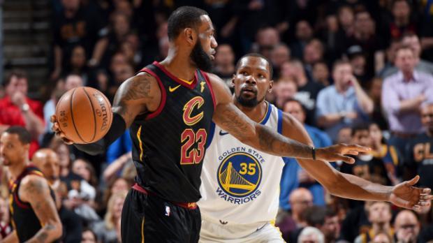 Finales NBA: Warriors vencieron 110-102 a Cavaliers en el juego 3
