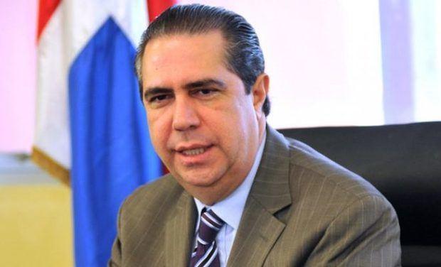 Ministro de Turismo, Francisco Javier García.