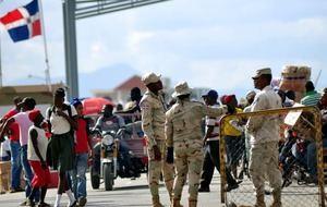 Ciudadanos haitianos indocumentados han decidió regresar a su país.