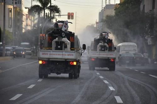 MOPC ejecutará jornada de limpieza y desinfección al sector San Carlos.