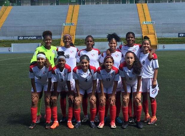 Selección de fútbol RD derrotó a El Salvador en la Sub-20 femenino
