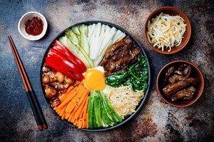 Gastronomía Corea.