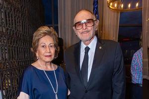 Lorna de Lama y Eduardo Lama.