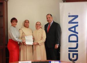 GILDAN donó más de dos millones de pesos Hogar Caridad Misionera