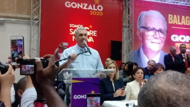 Directorio Balaguerista (DB) proclamó este domingo al candidato presidencial del Partido de la Liberación Dominicana (PLD), Gonzalo Castillo, como su candidato a la presidencial.