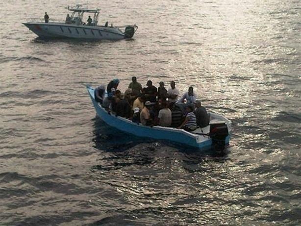 Guardia Costera en Puerto Rico devuelve a 24 inmigrantes ilegales a RD