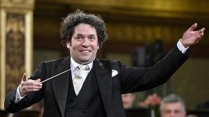 Director de orquesta venezolano Gustavo Dudamel entusiasmó este jueves, al frente de la Filarmónica de Viena.