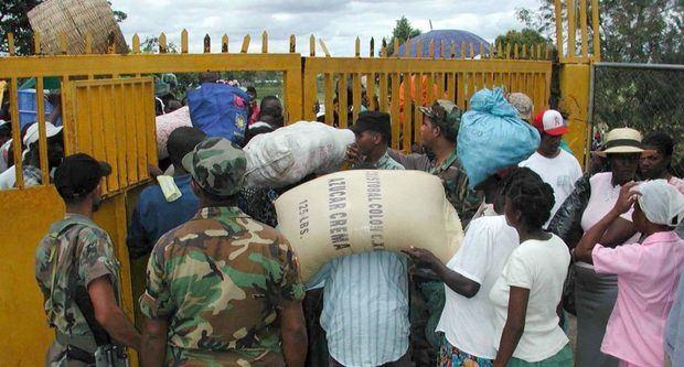 Poca actividad en mercado de frontera dominicana en medio de tensión en Haití