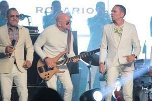 Latin Music Tours dedicó este evento a la orquesta merenguera Los Hermanos Rosario.