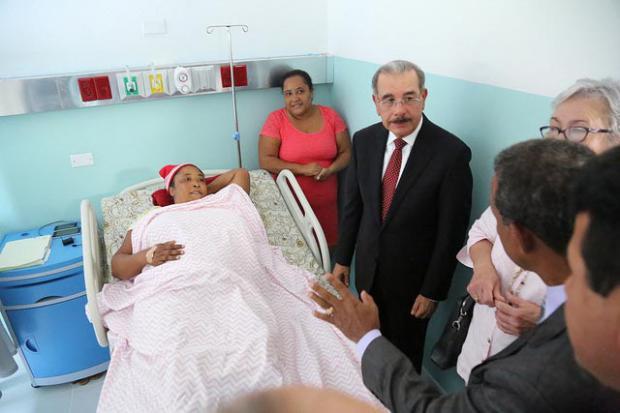 Comunidad de Los Hidalgos recibe remozado hospital Doctor Rafael Cantizano Arias