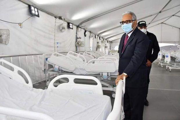 Sánchez Cárdenas visita hospital donado por el PRM y dice es