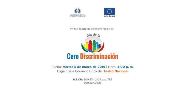Acto de conmemoración del Día de la Cero Discriminación