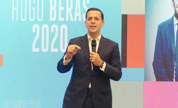 Hugo Beras afirma que 'Santo Domingo seguirá por buen camino'.