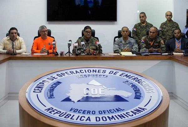 RD mantiene 14 provincias en alerta ante el avance de la tormenta Isaac