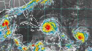 Huracanes en el Caribe.