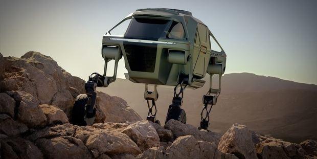 Hyundai desarrolla un vehículo que camina para ayudar en desastres naturales