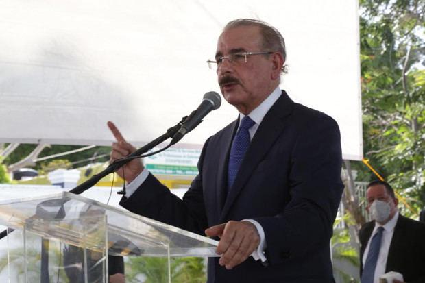 Presidente Danilo Medina agradece al pueblo dominicano por haberle permitido servirle