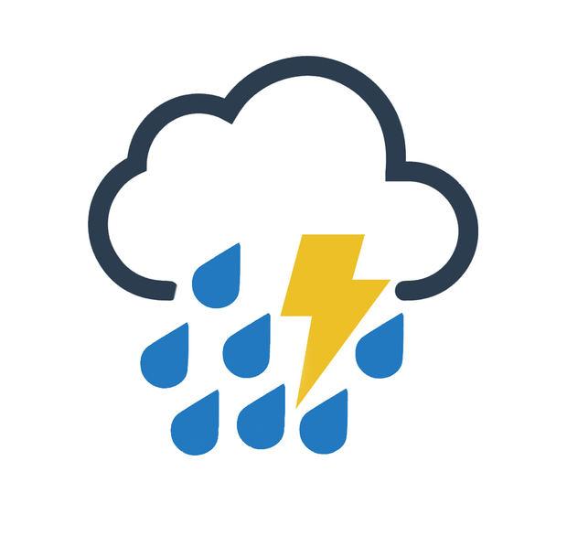 Aguaceros con tormentas eléctricas esta tarde en algunas provincias
