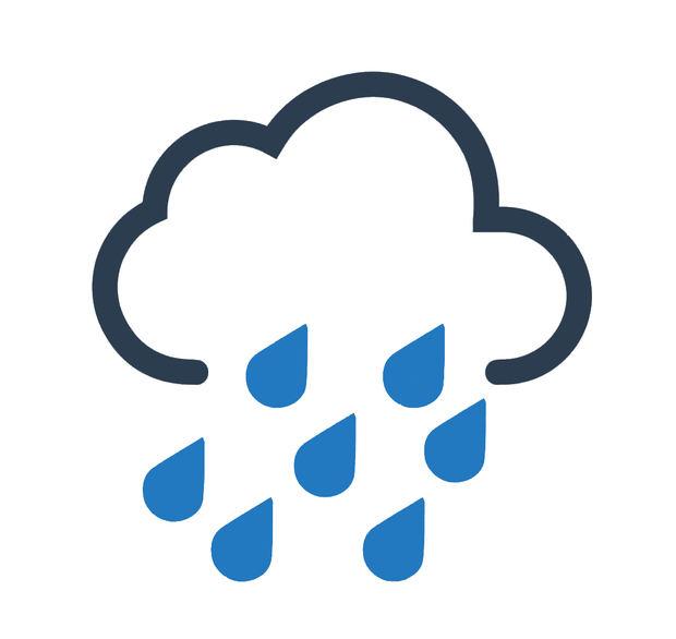 Incrementos nubosos con lluvias dispersas y ráfagas de viento en la tarde