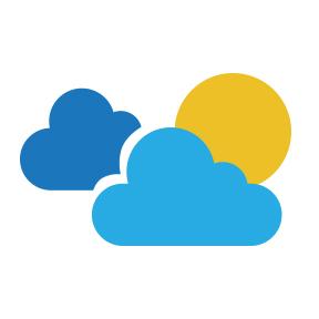Incrementos nubosos ocasionales y temperaturas calurosas