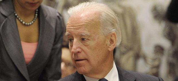 El presidente de Estados Unidos, Joe Biden, en una imagen de archivo, presidiendo una reunión del Consejo de Seguridad cuando era vicepresidente.