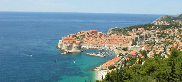 La Ciudad Vieja de Dubrovnik, Croacia.