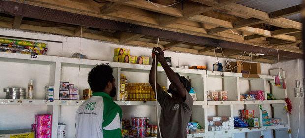 Se espera que las 'redes de enjambre' permitan realizar una transición a energías 100% renovable en Vanuatu.