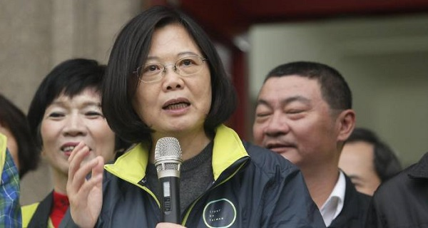 La presidenta taiwanesa inicia un viaje a Latinoamérica con escala en EE.UU.