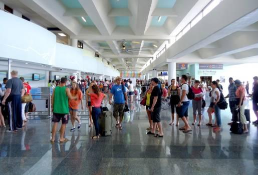 Turistas llegan a República Dominicana