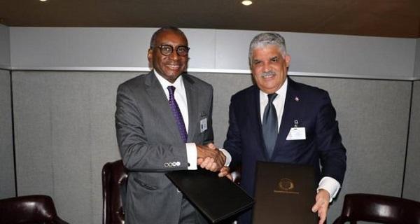 RD firma relaciones diplomáticas con Senegal y Santo Tomé Príncipe