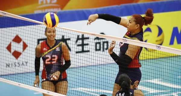 RD avanza en Mundial de Voleibol femenino con triunfo ante Kenia