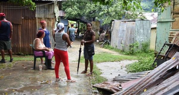 Más de 11.000 dominicanos continúan desplazados a pesar de reducción lluvias