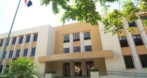 Fachada del edificio del Archivo General de la Nación.