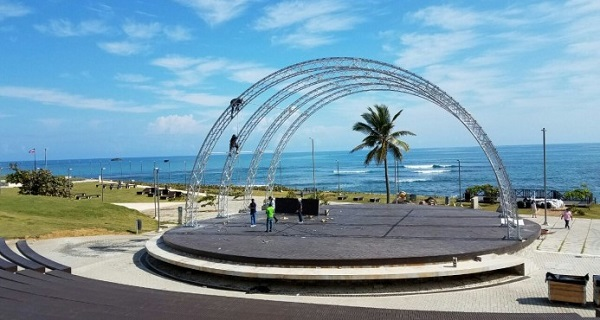La música urbana invade el Anfiteatro Puerto Plata y todo el Cibao