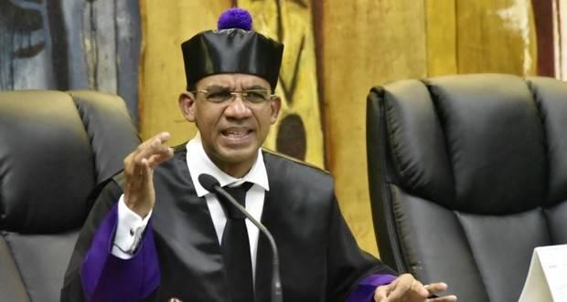 Juez de la Instrucción de la Suprema Corte de Justicia, Francisco Ortega.