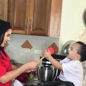 Esmeralda Moronta, madre emprendedora.