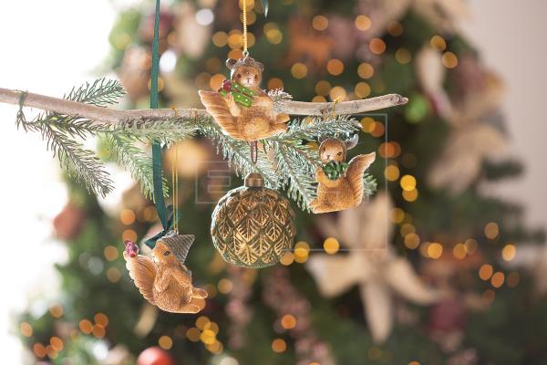 Imágenes cedidas por Leroy Merlin. Detalle de decoración navideña.