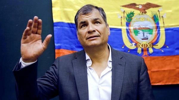 Ecuador pedirá a Interpol el arresto del expresidente Rafael Correa por un caso de secuestro