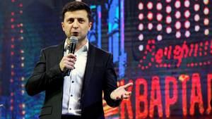 Comediante Zelenski luchará con Poroshenko por la Presidencia ucraniana