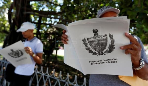 Casi nueve millones de cubanos participaron en el debate sobre la nueva Constitución