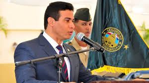 Mayor general Adams B. Cáceres Silvestre.