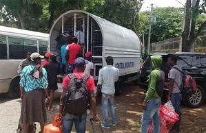 Intervención de 15 provincias y el Distrito Nacional, la Dirección General de Migración, DGM, detuvo a 2,127 extranjeros de nacionalidad haitiana.