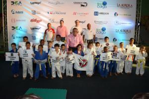 Infantiles sobresalen en inicio II Copa Invitacional de Clubes Geraldino Judo