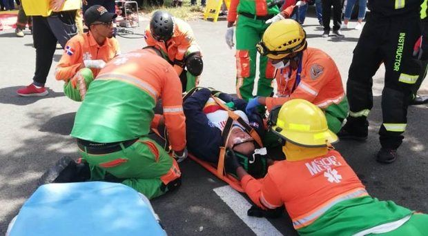 INTRANT realiza Simulacro de Rescate Infantil en Accidentes de Tránsito