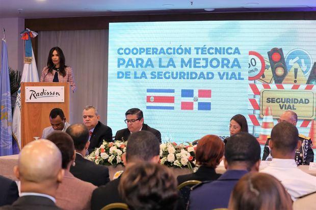 Iniciaron la ejecución de un proyecto de cooperación técnica entre países para mejorar la seguridad vial en República Dominicana y Costa Rica.